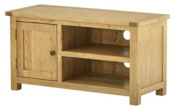 Purbeck Oak TV Unit