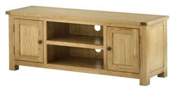 Purbeck Oak Large TV Unit