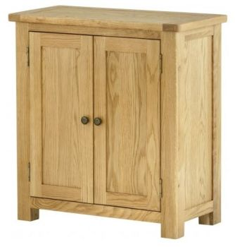 Purbeck Oak 2 Door Cabinet