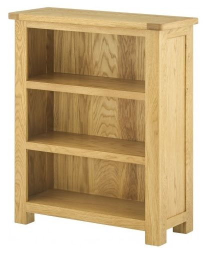 Purbeck Oak Small Bookcase