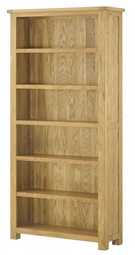 Purbeck Oak Large Bookcase