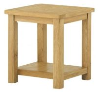 Purbeck Oak Lamp Table