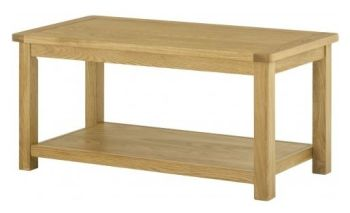 Purbeck Oak Coffee Table