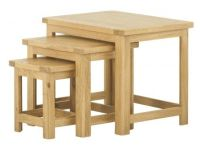 Purbeck Oak Nest of Tables