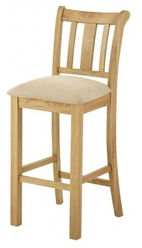 Purbeck Oak Bar Stool