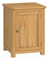 Purbeck Oak Office 1 Door Cupboard