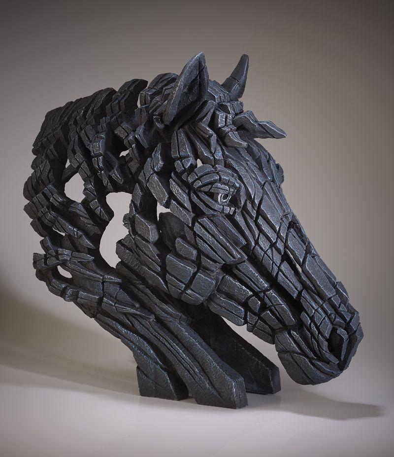 Horse Bust (Black)