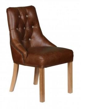 Executive Italian Leather Chair