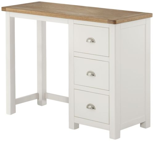 Purbeck Painted Dressing Table - White