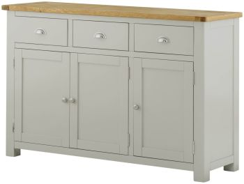 Purbeck Painted 3 Door Sideboard