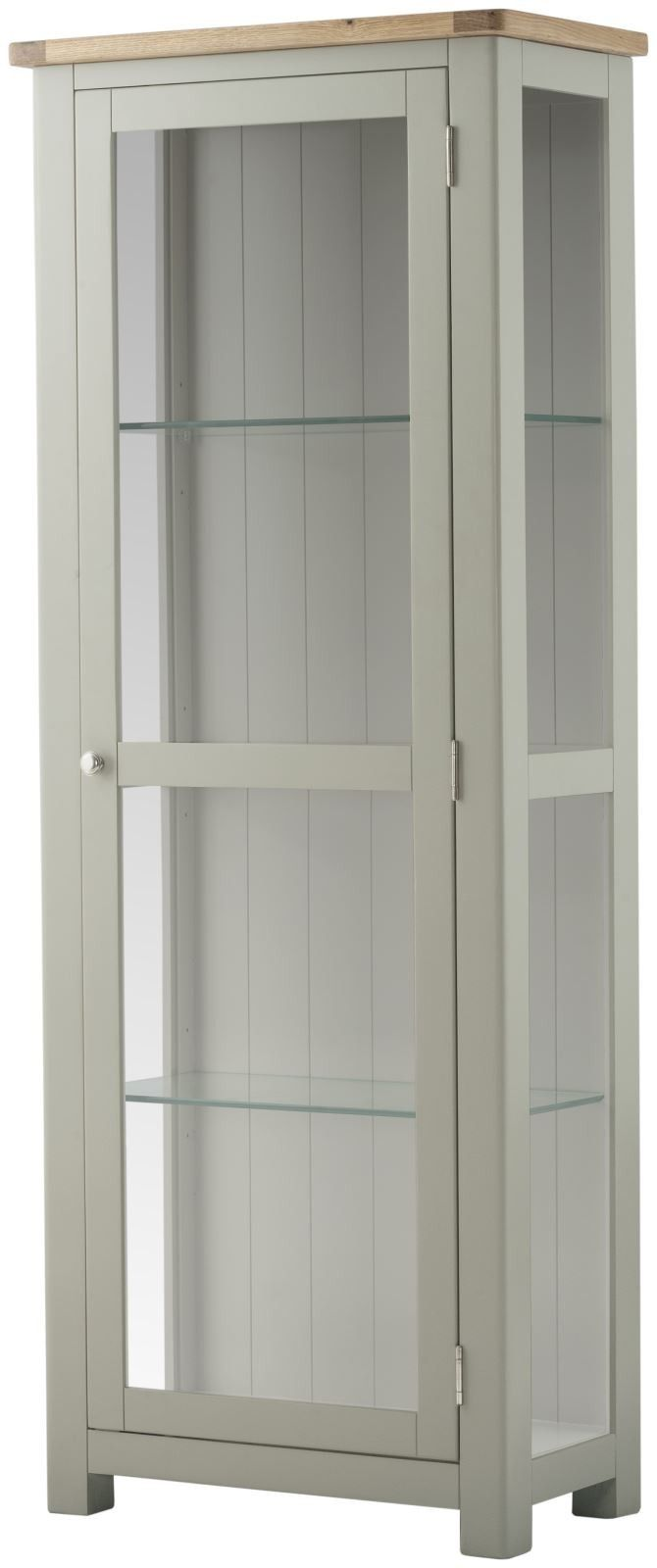 Purbeck Painted Glazed Display Cabinet