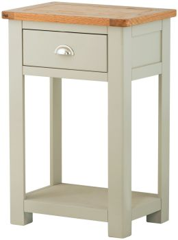 Purbeck Painted Console Table - 1 Drawer