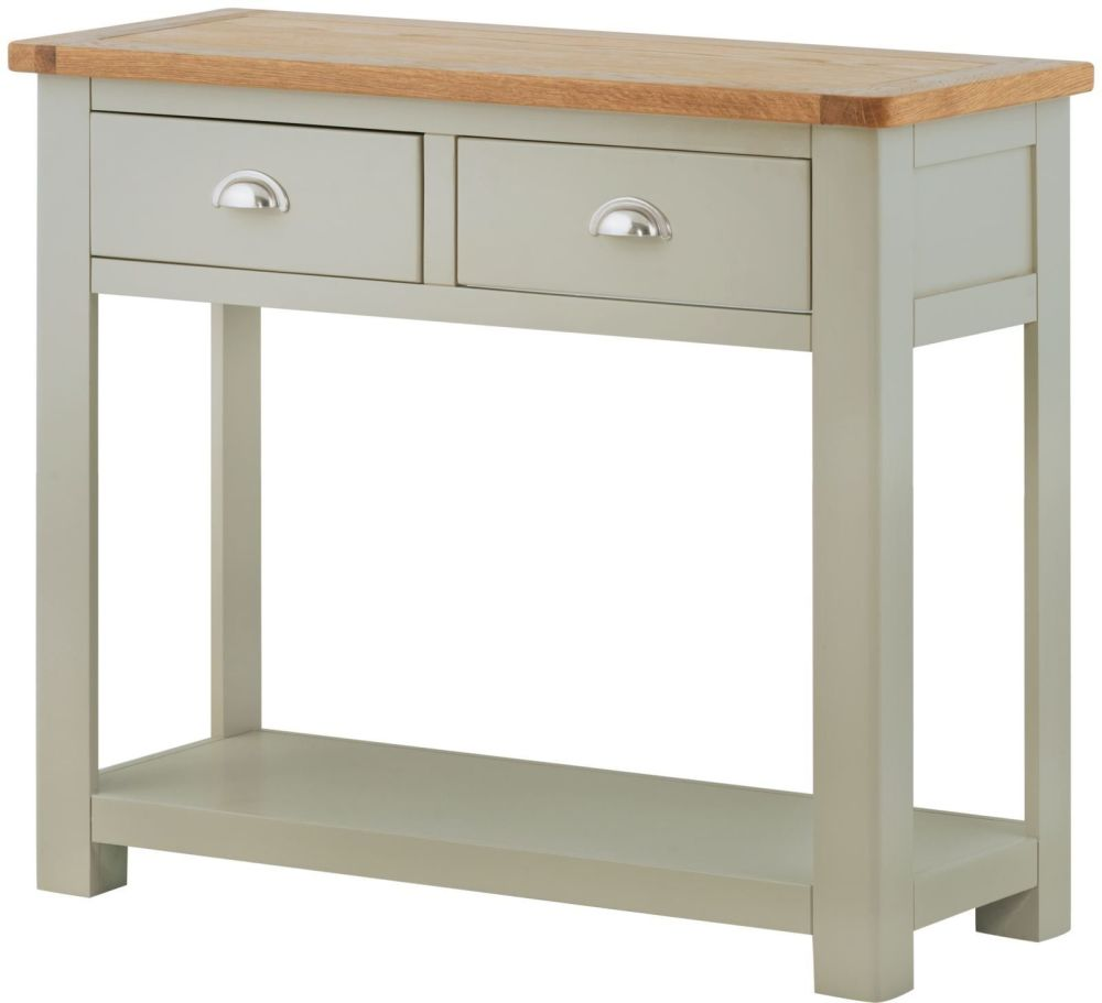Purbeck Painted 2 Drawer Console Table