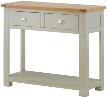 Purbeck Painted Console Table - 2 Drawer