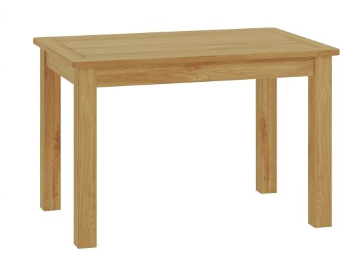 Purbeck Oak Fixed Top Dining Table