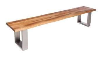 Urban Oak Bench (No Back)