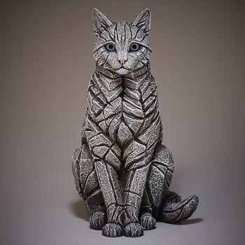 Cat-Sitting (White)