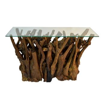 Teak Root Wall Table
