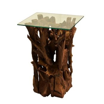 Teak Root Lamp Table