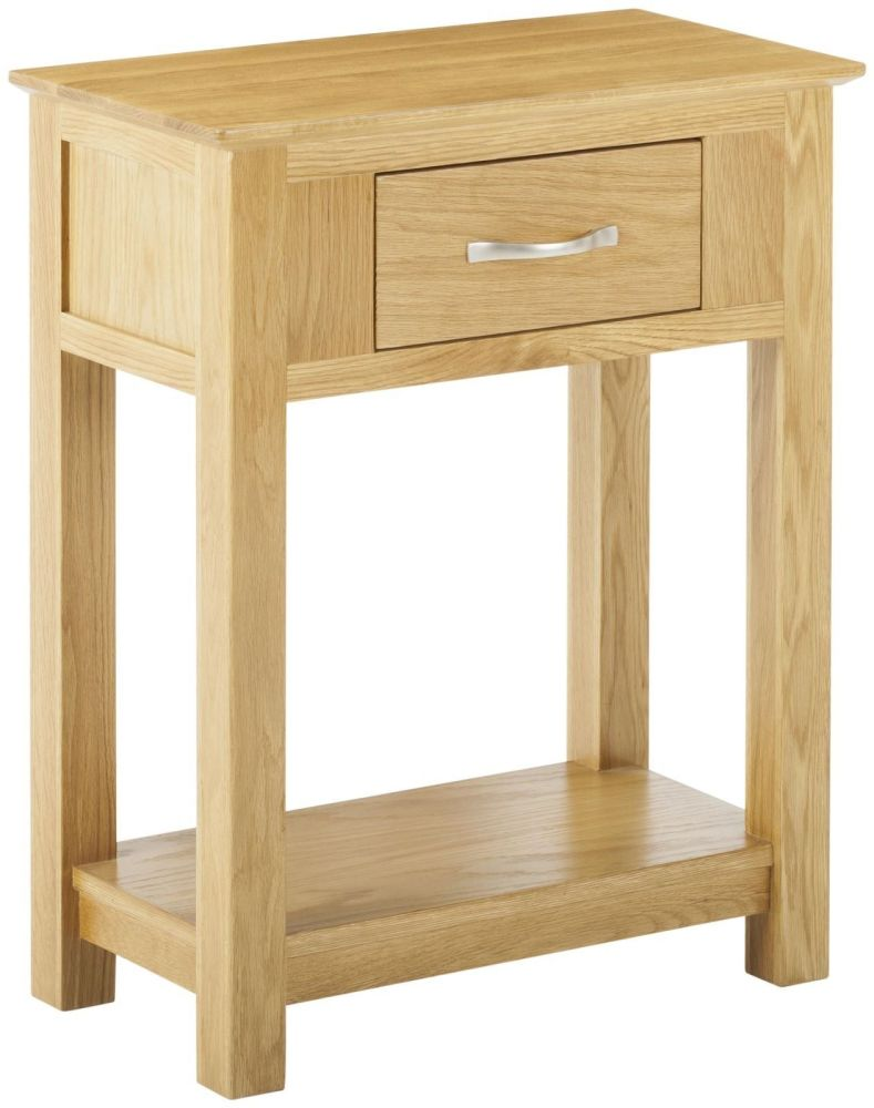 Kimmeridge Small 1 Drawer Console Table