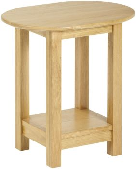 Kimmeridge Oval Lamp Table