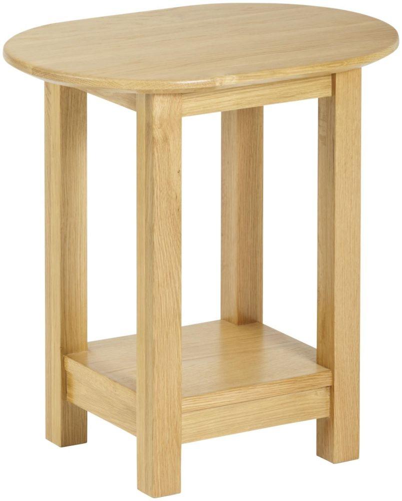 Kimmeridge Oval Lamp Table