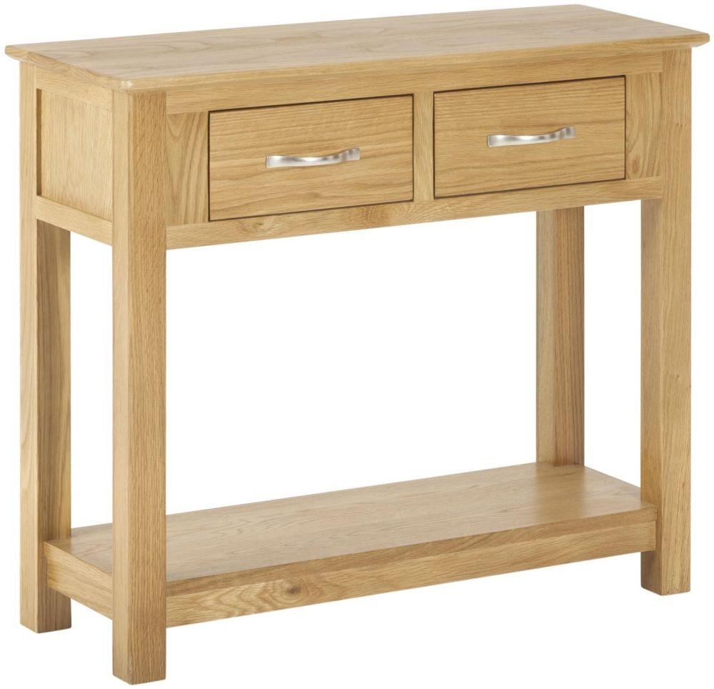 Kimmeridge 2 Drawer Console Table