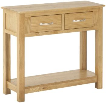 Kimmeridge 2 Drawer Console Table