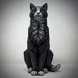 Cat-Sitting (Black/White)