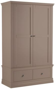 Bay View Double Wardrobe with 2 Drawers