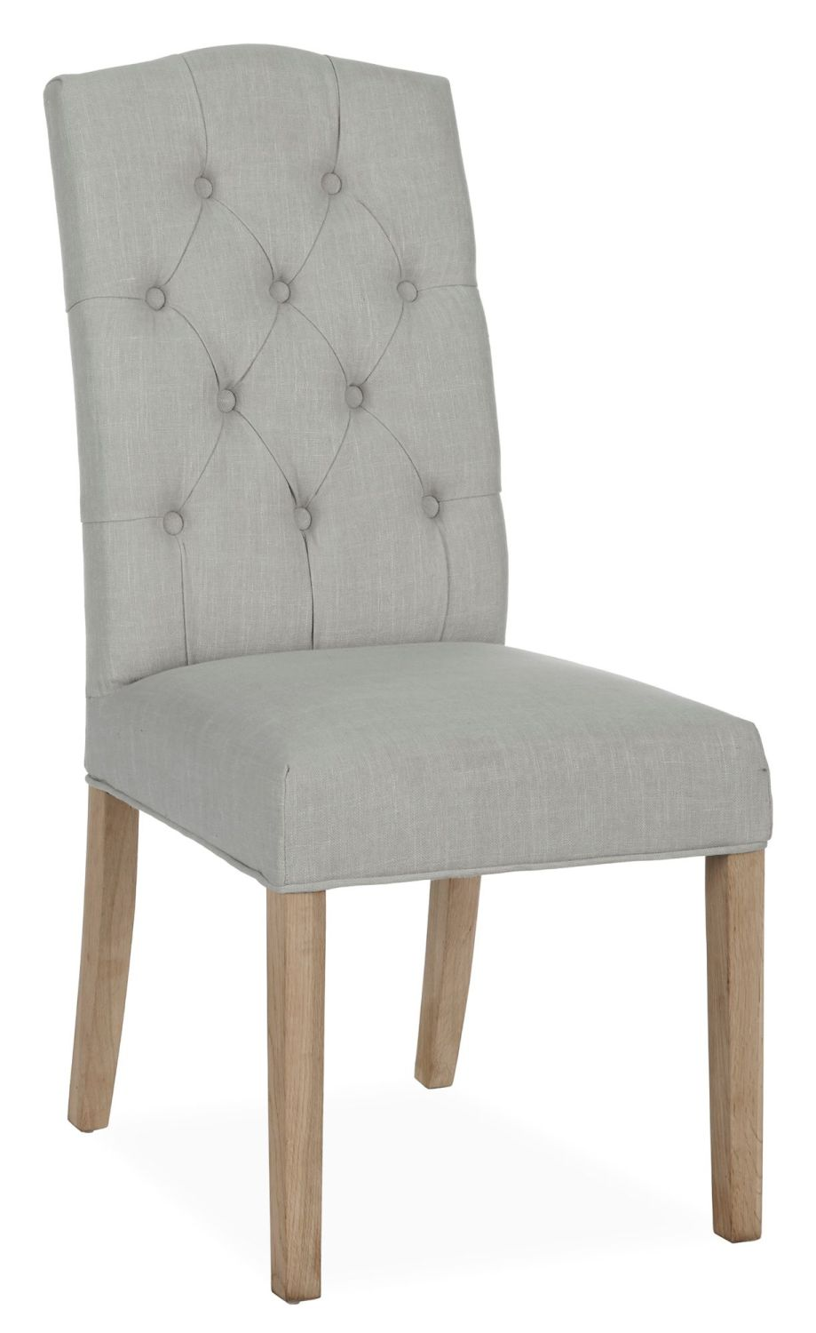 Lakeside Button Cream Back Dining Chair