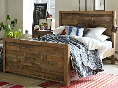 Vogue 5' King-Size Bed - High Foot