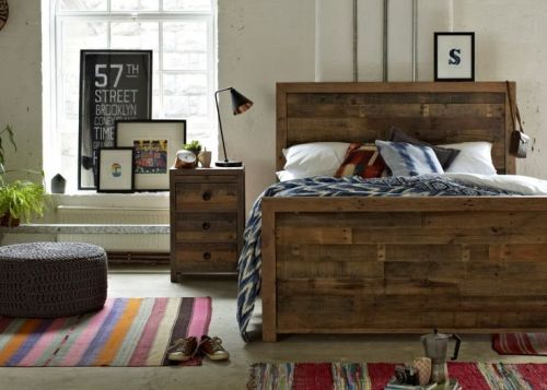 Vogue 6' King-Size Bed - High Foot