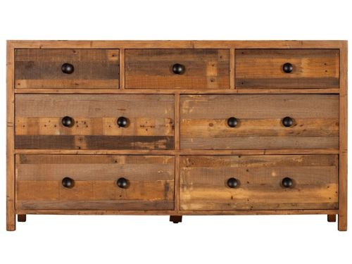 Vogue 7 Drawer Wide Chest