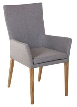 Urban Plush Dining Chair with Arms
