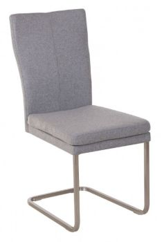 Urban Plush Cantilever Dining Chair - Felt Fabric