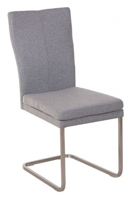 Urban Plush Cantilever Dining Chair - Felt Fabric