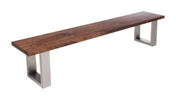 Urban Walnut Bench (No Back)