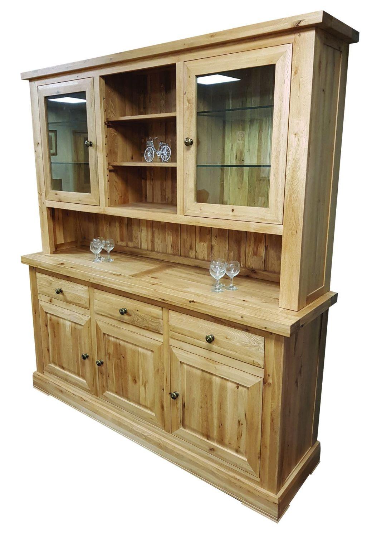 Hampton Abbey Oak 3 Bay Dresser