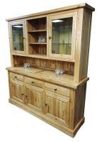 Hampton Abbey Oak Dresser - 3 Bay