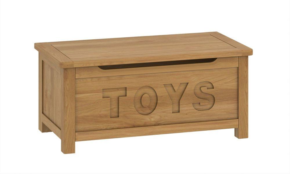 Purbeck Oak Toy Box