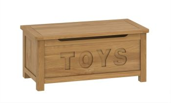 Purbeck Oak Blanket Box - Toys