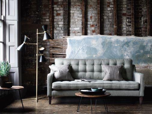 Salcome Medium Sofa - Fabric