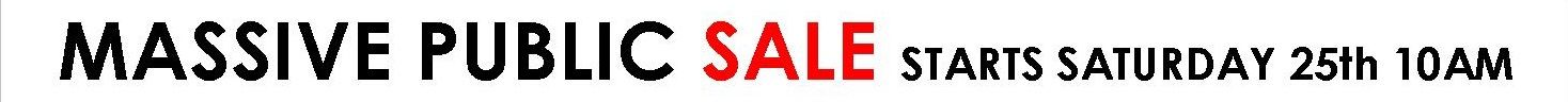 Clearance Sale 2