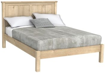 "Brittany Oak 4'6"" Double Bed"