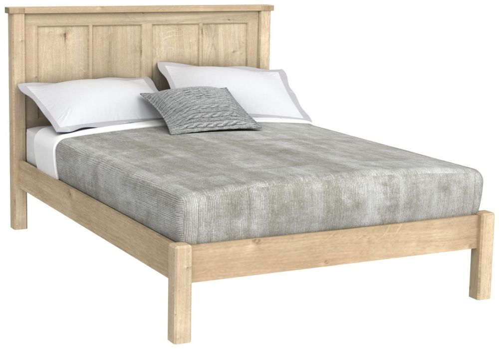 Brittany Oak 5' King-Size Bed