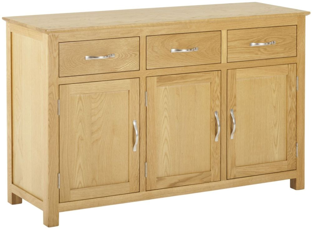Kimmeridge 3 Door 3 Drawer Sideboard