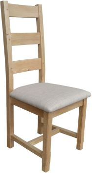 Hampton Abbey Oak Farmhouse Chair