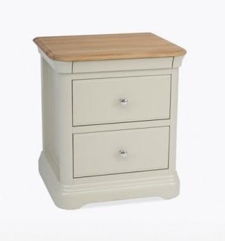 Cromwell 2 Drawer Bedside