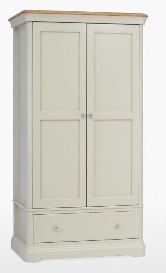 Cromwell Gentleman's Wardrobe with 1 Drawer